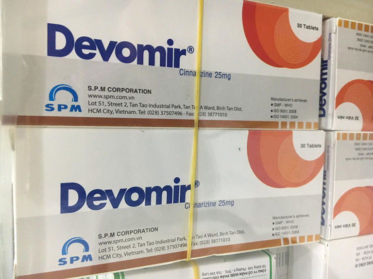 Các thông tin cần biết về thuốc Devomir
