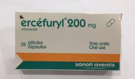 Thuốc Ercefuryl điều trị tình trạng tiêu chảy