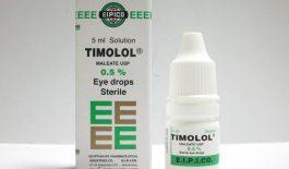 Thuốc Timolol điều trị các bệnh về mắt