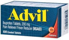 Thuốc Advil được chỉ định để giảm đau, hạ sốt, kháng viêm