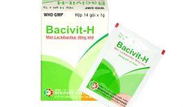 Thuốc Bacivit-H điều trị các triệu chứng rối loạn tiêu hóa