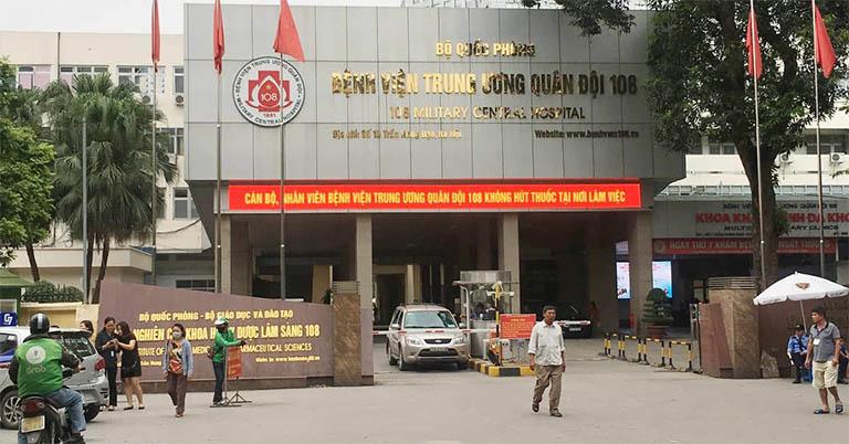 Khoa Vật lý trị liệu - Phục hồi chức năng trực thuộc bệnh viện Trung ương Quân đội 108 điều trị bệnh đau vai gáy