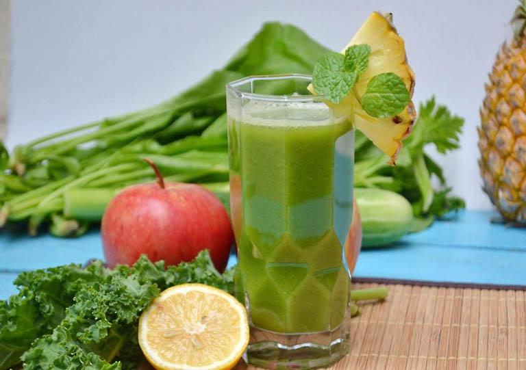 Bổ sung nhiều rau xanh, trái cây tươi cho cơ thể để phòng ngừa bệnh nứt kẽ hậu môn