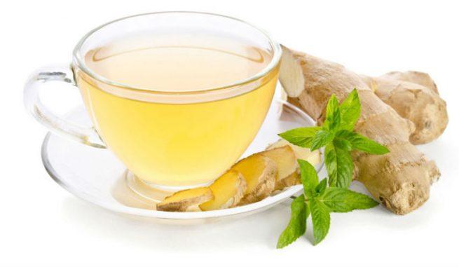 Nước gừng, trà gừng giúp người bệnh cải thiện tình trạng viêm dạ dày, giúp ấm bụng, giúp dạ dày tiêu hóa tốt hơn,...