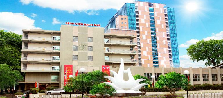 Bệnh viện Bạch Mai là một địa chỉ khám và điều trị bệnh đau nhức khớp gối uy tín.