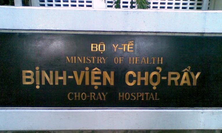 Bệnh viện Chợ Rẫy có dịch vụ khám, chữa bệnh đau nhức khớp đầu gối, viêm khớp gối,...