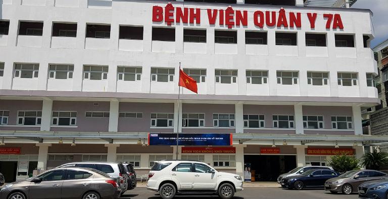 Bệnh viện Quân y 7A là một trong những bệnh viện có dịch vụ khám, điều trị chứng đau khớp gối uy tín tại khu vực TP. Hồ Chí Minh.