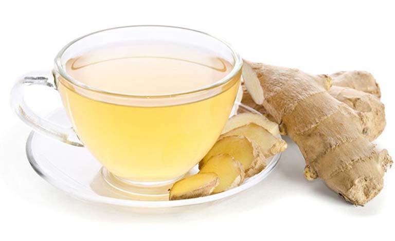 Uống trà gừng giúp loại bỏ các vi khuẩn gây hại và cải thiện tình trạng hôi miệng