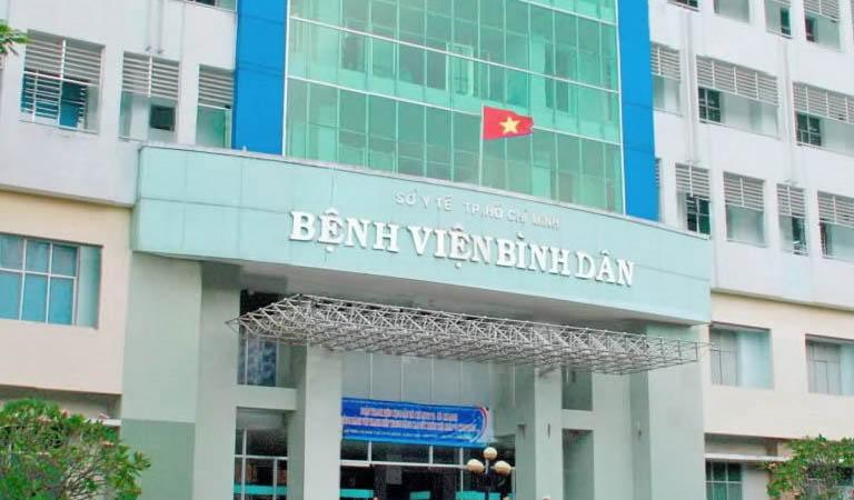 Bệnh viện Bình Dân - Quận 3, Thành phố Hồ Chí Minh