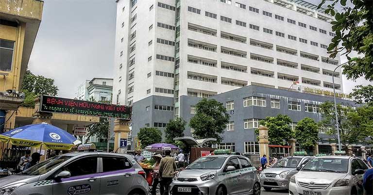 Bệnh viện Hữu Nghị Việt Đức - Quận Hoàn Kiếm, Hà Nội