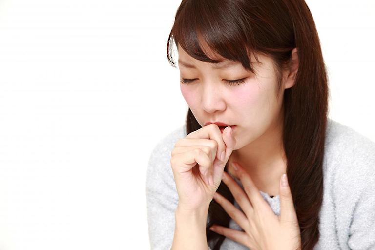 Ho là một trong những biểu hiện của bệnh viêm amidan