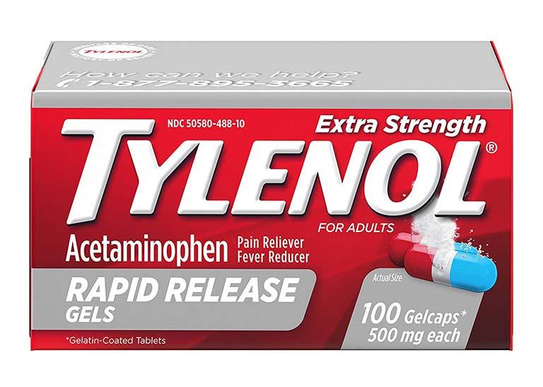 Tylenol là thuốc có tác dụng giảm đau, được chỉ định để điều trị nhiều bệnh xương khớp