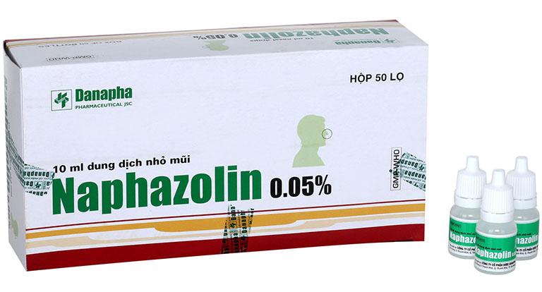 Không được dùng thuốc Naphazolin để chữa bệnh viêm mũi dị ứng cho trẻ em