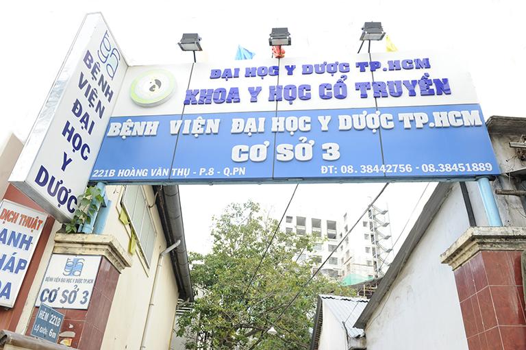 Bệnh viện Y dược thành phố Hồ Chí Minh là một trong những địa chỉ uy tín