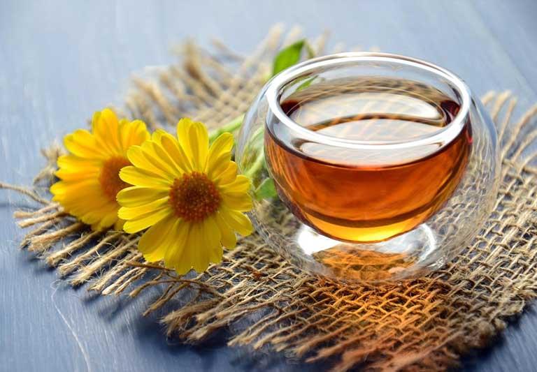Uống trà Giảo cổ lam thường xuyên giúp tăng sức đề kháng, nâng cao sức khỏe