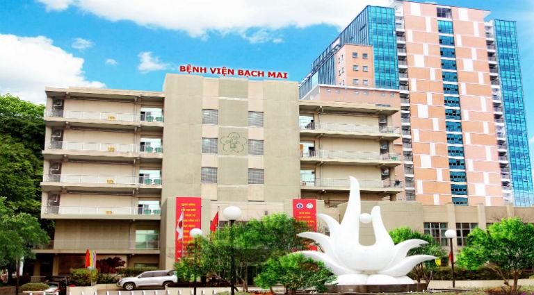 Người bệnh tại Hà Nội có thể chọn thực hiện nội soi dạ dày tại bệnh viện Bạch Mai.