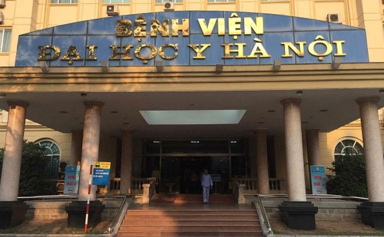 Bệnh viện Đại học Y Hà Nội là một đơn vị y tế uy tín, bạn có thể thực hiện nội soi dạ dày tại bệnh viện này.