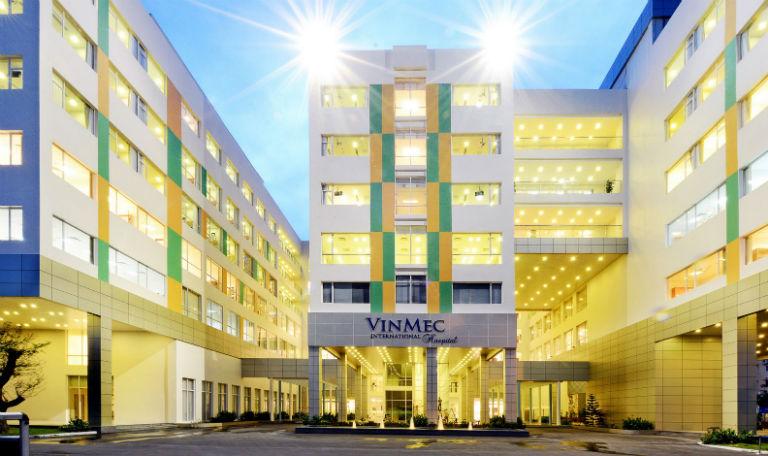 Bệnh viện Vinmec Times City là một bệnh viện có khám nội soi dạ dày.