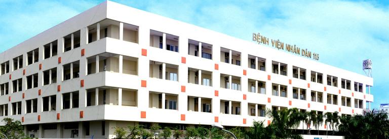Bệnh viện nhân dân 115 là cơ sở khám nội soi dạ dày tốt ở khu vực TP. HCM.