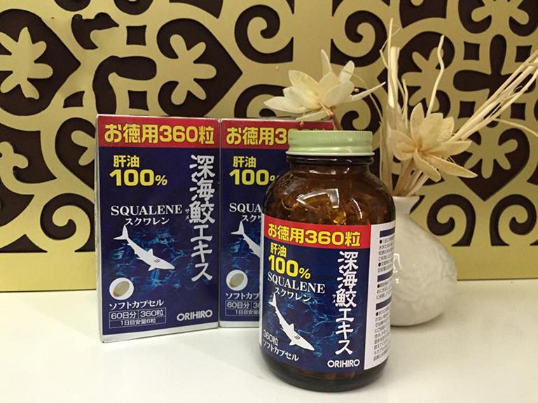 Sụn vi cá mập Squalene hỗ trợ các triệu chứng bệnh viêm xương khớp