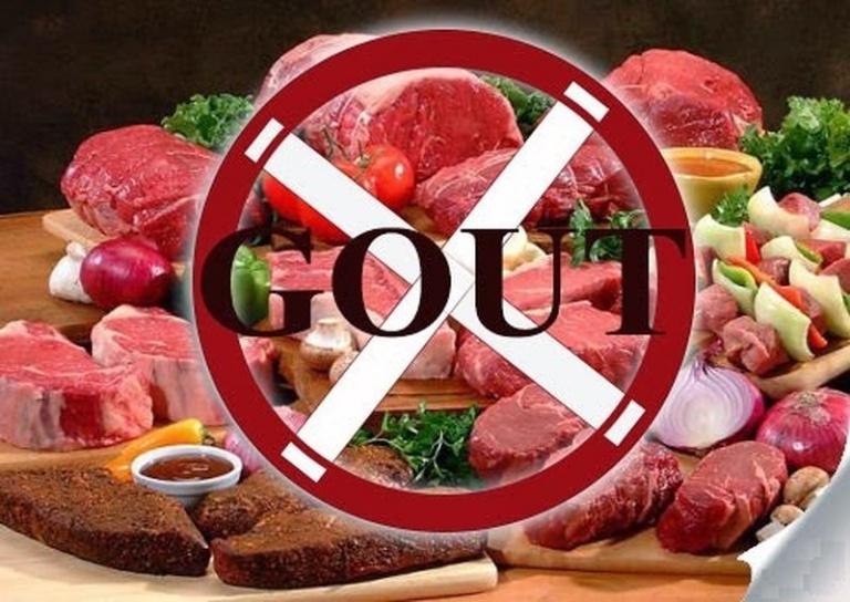 Những món ăn bệnh nhân gout không nên ăn trong dịp Tết.