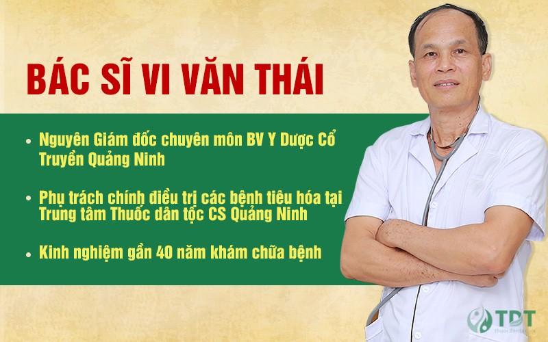 Chân dung BS Vi Văn Thái