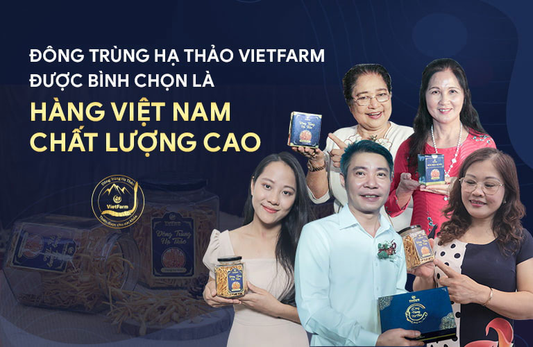 Nghệ sĩ Việt tin dùng đông trùng hạ thảo Vietfarm để bồi bổ sức khoẻ, dưỡng nhan