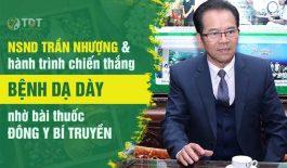 NSND Trần Nhượng chữa đau dạ dày tại TT Thuốc dân tộc