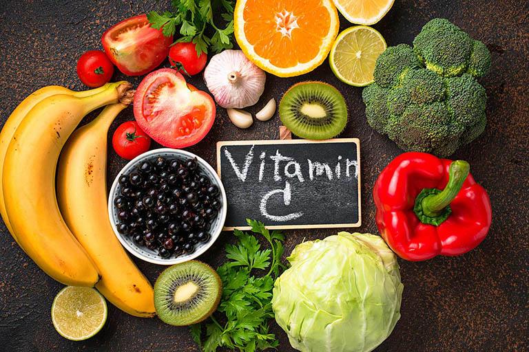 Tăng cường bổ sung thực phẩm giàu vitamin C