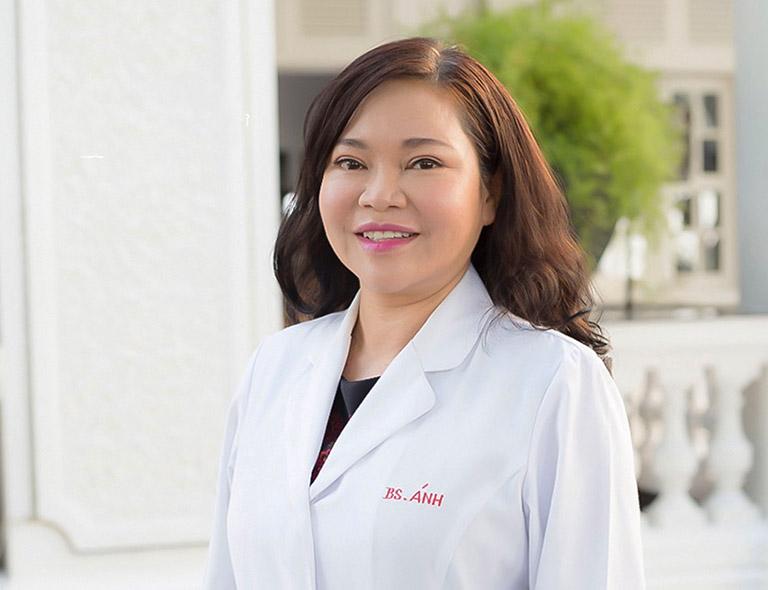 Bác sĩ Trần Ngọc Ánh - Bác sĩ chữa viêm da cơ địa giỏi ở Thành phố Hồ Chí Minh
