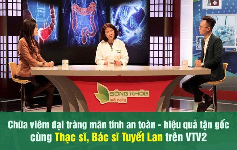 Bác sĩ Tuyết Lan tư vấn chữa viêm đại tràng trên VTV2