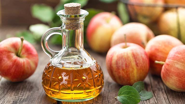 Giấm táo có tác dụng làm giảm triệu chứng của bệnh đau dạ dày
