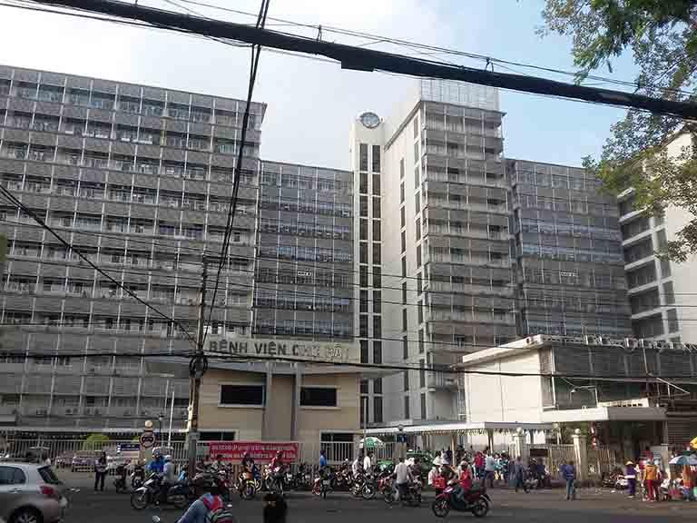 Chợ Rẫy là một bệnh viện uy tín tại thành phố Hồ Chí Minh