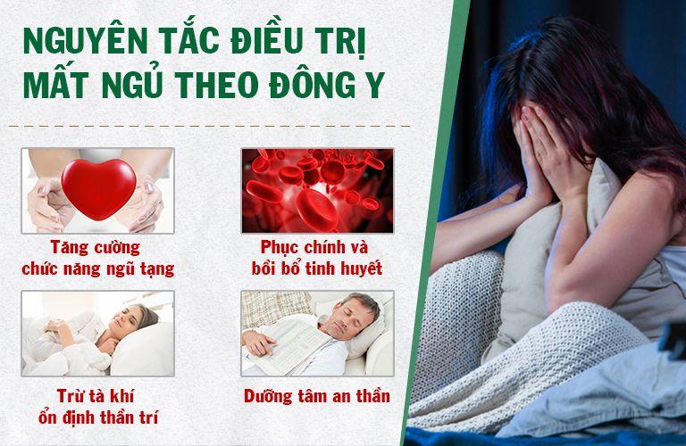 Định tâm An thần thang điều trị mất ngủ theo nguyên tắc Đông y