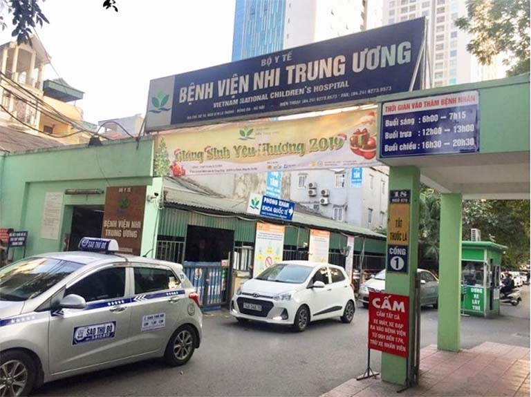 Bệnh viện Nhi Trung ương - Địa chỉ khám dạ dày cho trẻ em uy tín tại Hà Nội