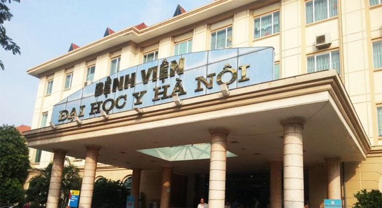 Bệnh viện Đại học Y Hà Nội là địa chỉ khám chữa bệnh dạ dày cho trẻ em