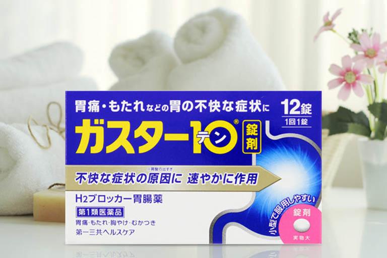 Thuốc đau dạ dày GASTER 10