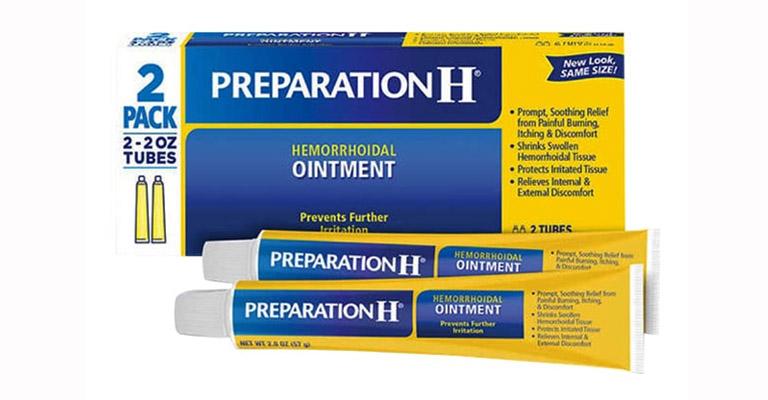 Thuốc trị trĩ Preparation H Ointment