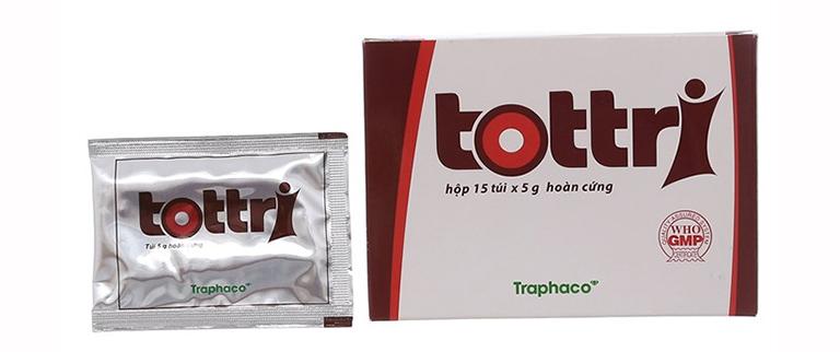 Thuốc hỗ trợ điều trị bệnh trĩ Tottri