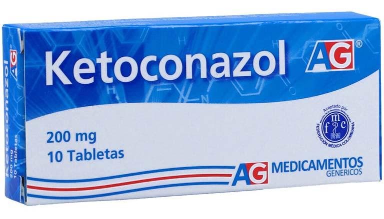 Thuốc tây trị lang ben Ketoconazol được điều chế ở nhiều dạng khác nhau