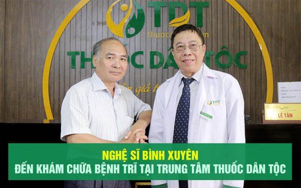 NS Bình Xuyên chữa bệnh trĩ tại Trung tâm Thuốc dân tộc