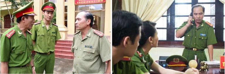 NS Bình Xuyên - gương mặt chiến sĩ Công an quen thuộc trên màn ảnh Việt