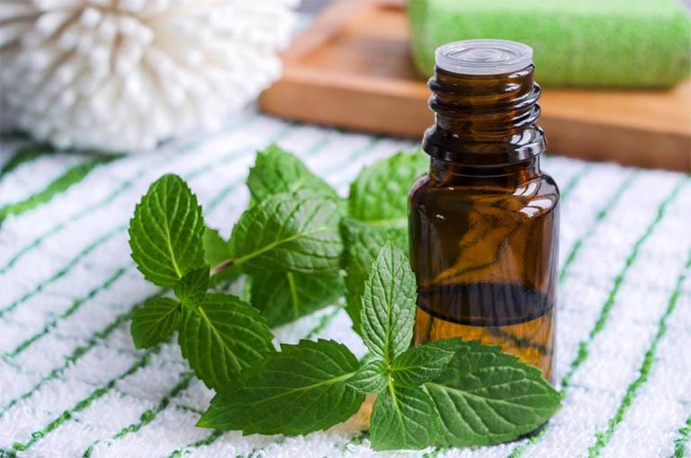 tinh dầu bạc hà giúp giảm đau do bệnh gout