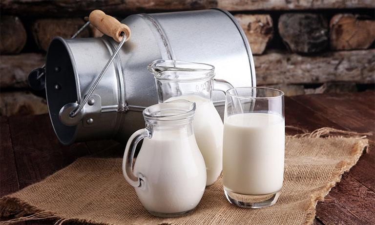 công dụng của sữa đối với người bị gút