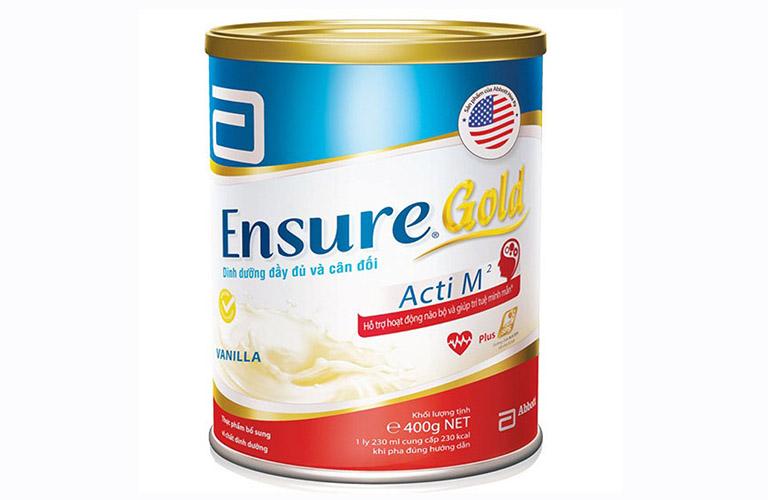 sữa Ensure Gold Acti M² tốt cho người bị bệnh gút