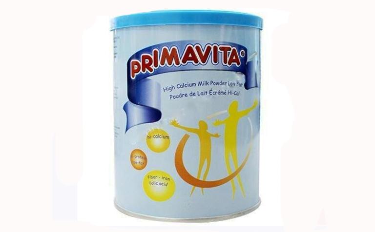 sữa primavita tốt cho người bị gút