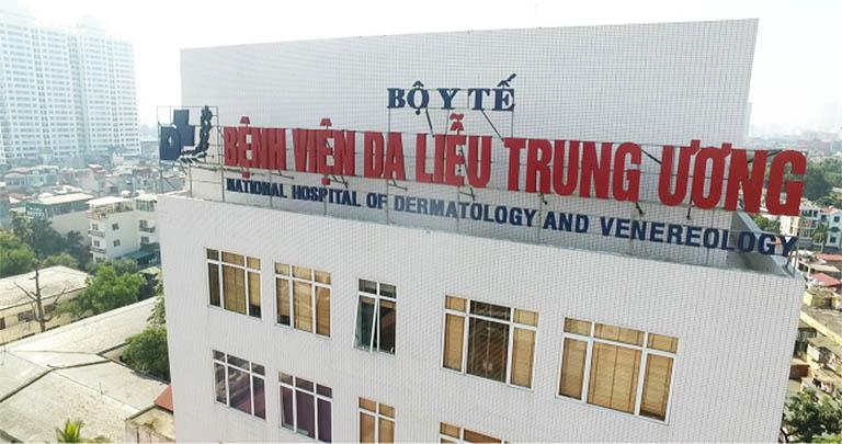 khám chữa bệnh viêm da cơ địa tại bệnh viện da liễu trung ương