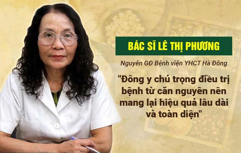 Bác sĩ Lê Thị Phương đánh giá cao bài thuốc chữa phong ngứa Thuốc dân tộc