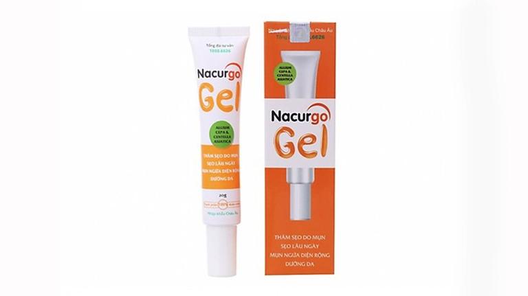 Nacurgo gel trị viêm nang lông, thâm mụn