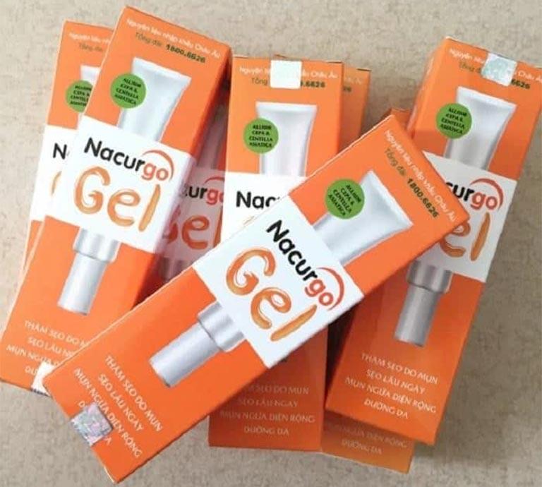 nacurgo gel được bán giá nhiêu? mua ở đâu?
